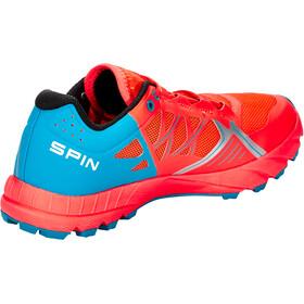 Scarpa Spin Schoenen Dames, bright red/sea